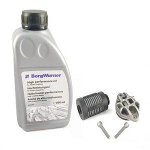 LR032298, 2002968, LR054941, LR003036, EJ32-19A509-AA, 2000884 set oil filter haldex 4th generation Land Rover Range Rover AWD BorgWarner